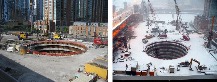 Chicago Spire Hole In The Ground