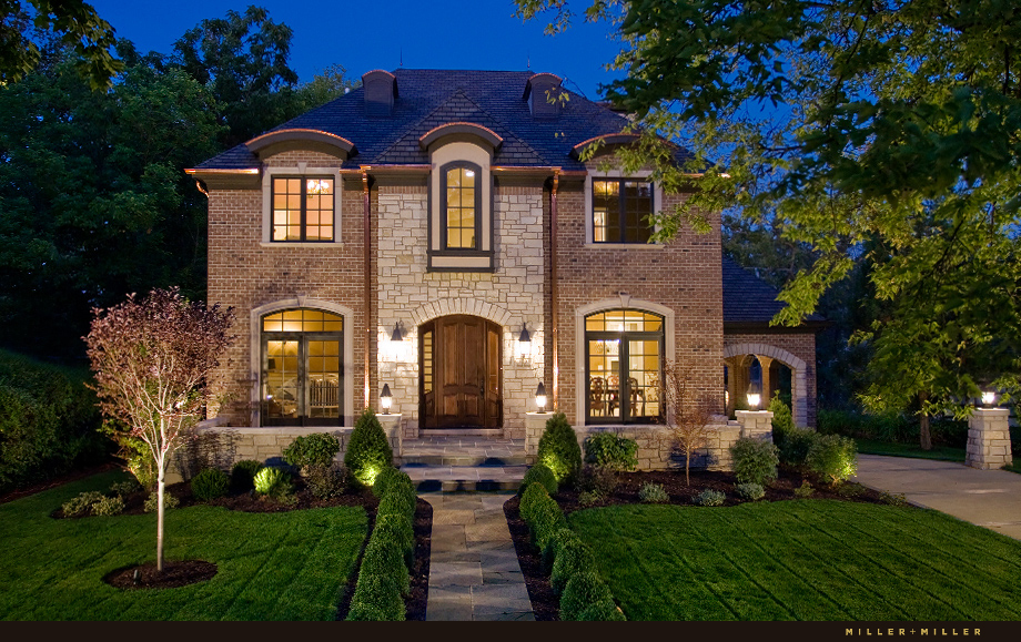 Amazing Exterior Photographer Hinsdale Night Pic Il