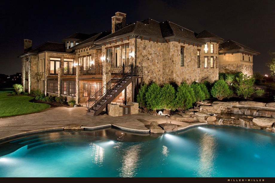 hinsdale luxury exterior architectural photography