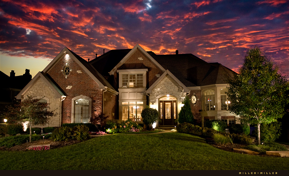 sunset photo exterior hinsdale photography
