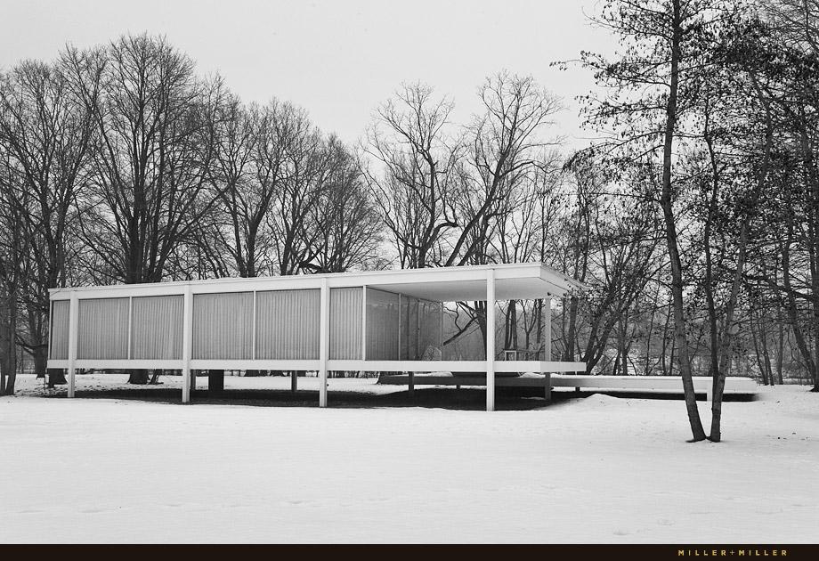 farnsworth house architect ludwig mies van der rohe. Black Bedroom Furniture Sets. Home Design Ideas
