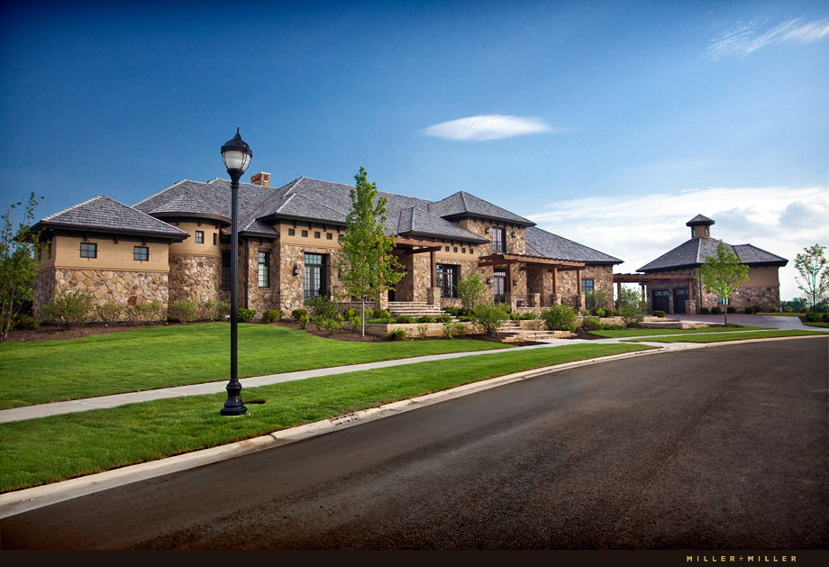 Mokena Custom Home Architectural Photographer
