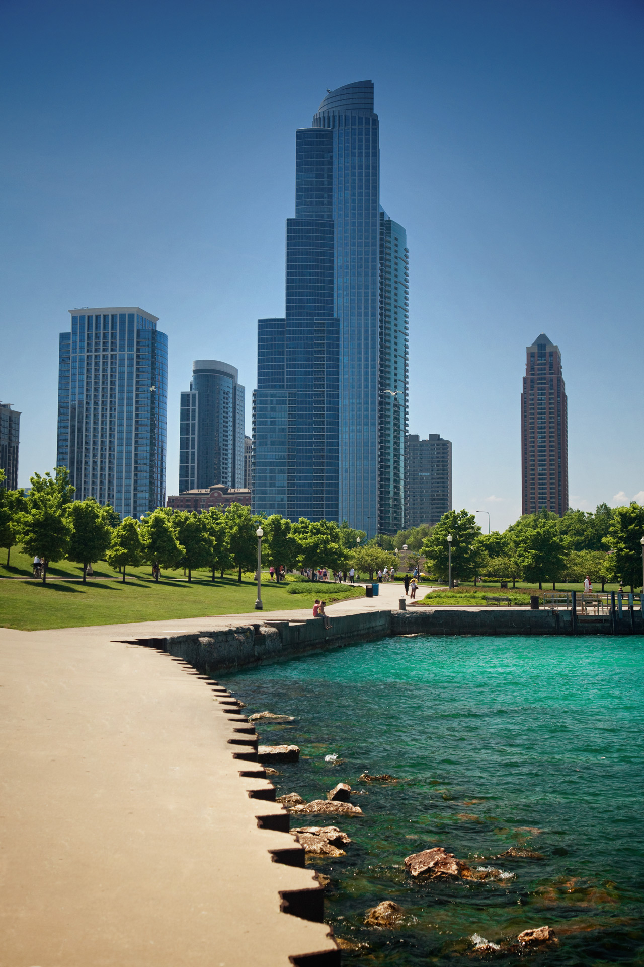 Chicago Lake Front Architecture