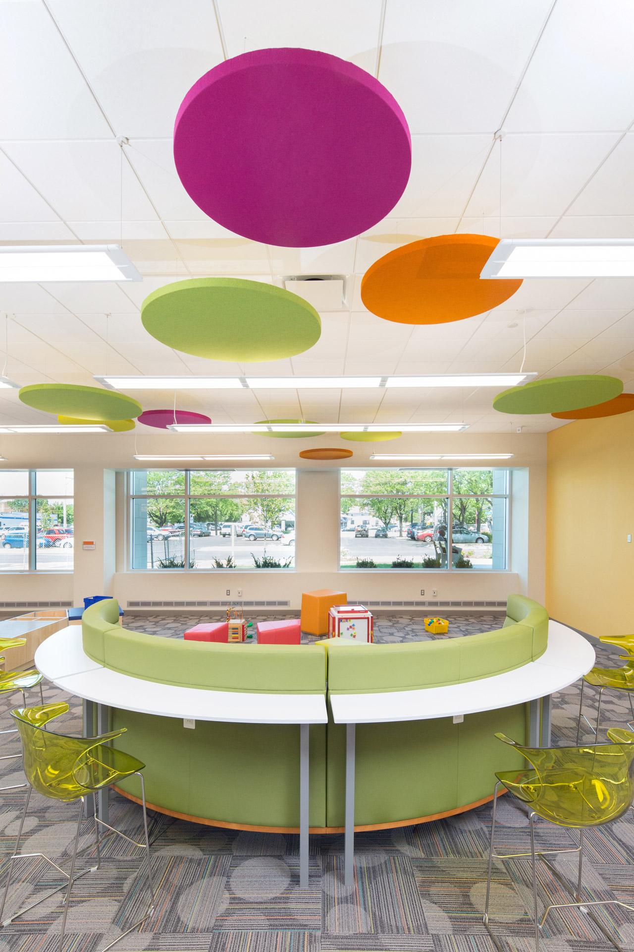 colorful vibrant architecture photos