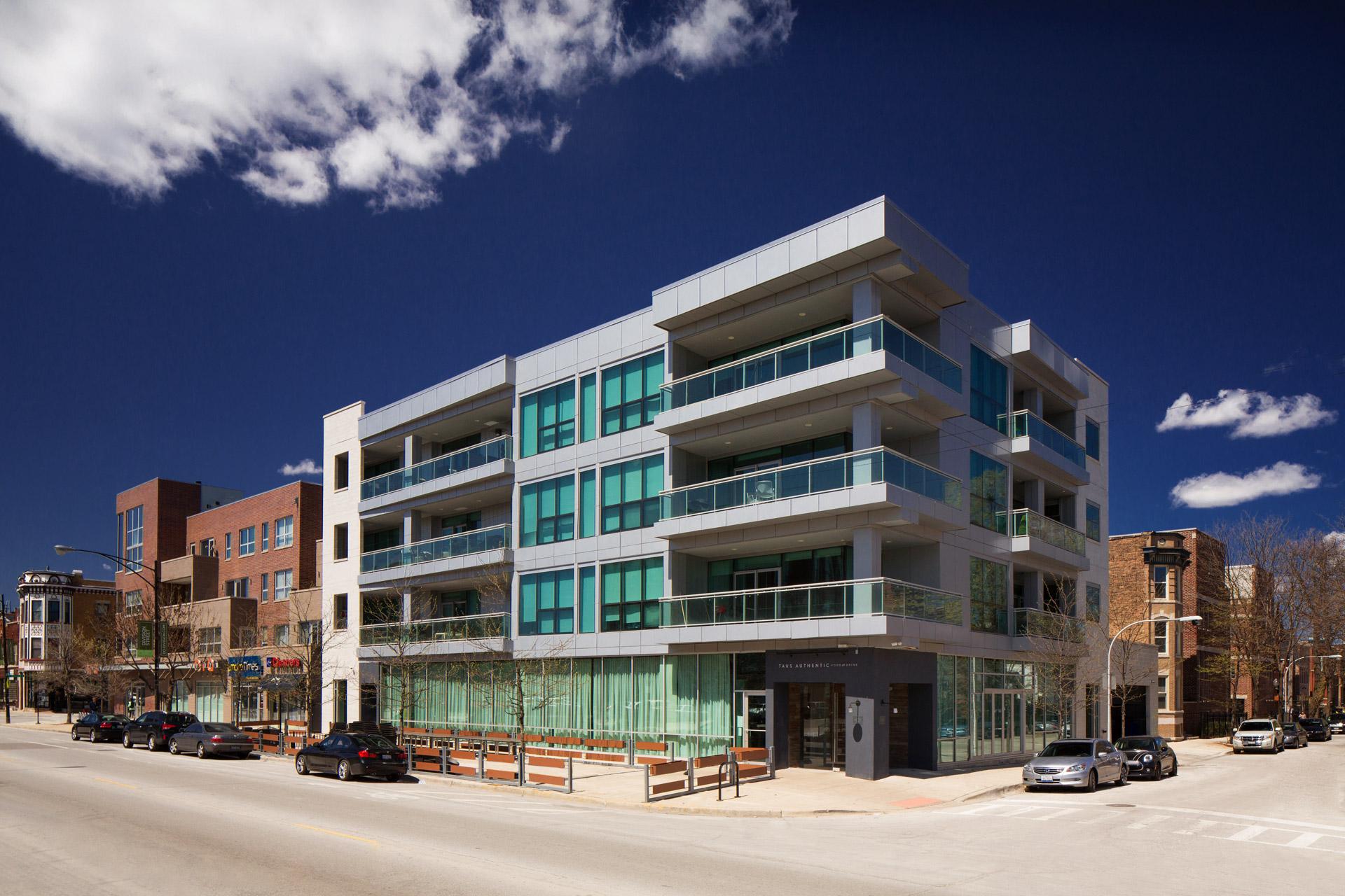 Condominium Development Building