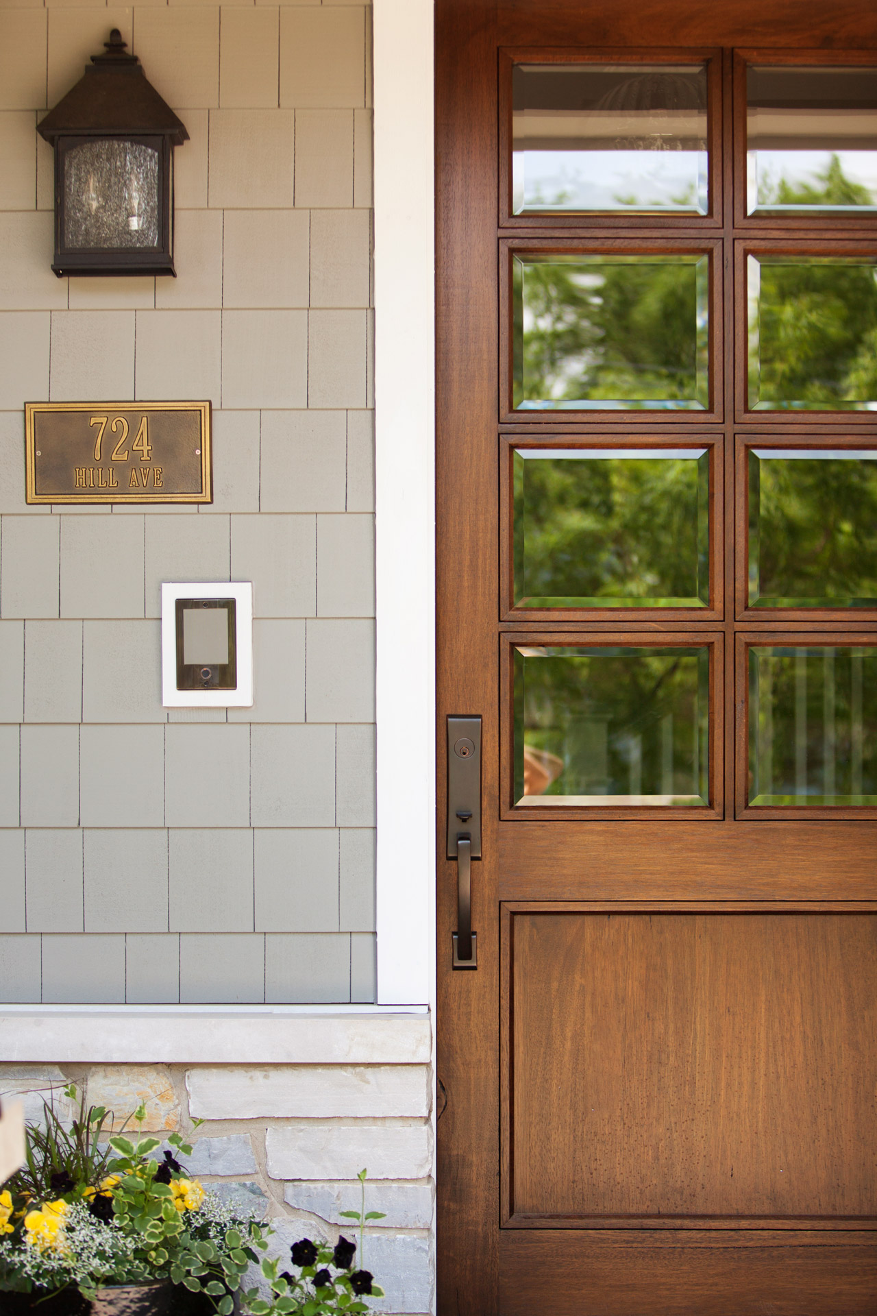 Chicago illinois exterior architectural photography luxury for Custom exterior doors