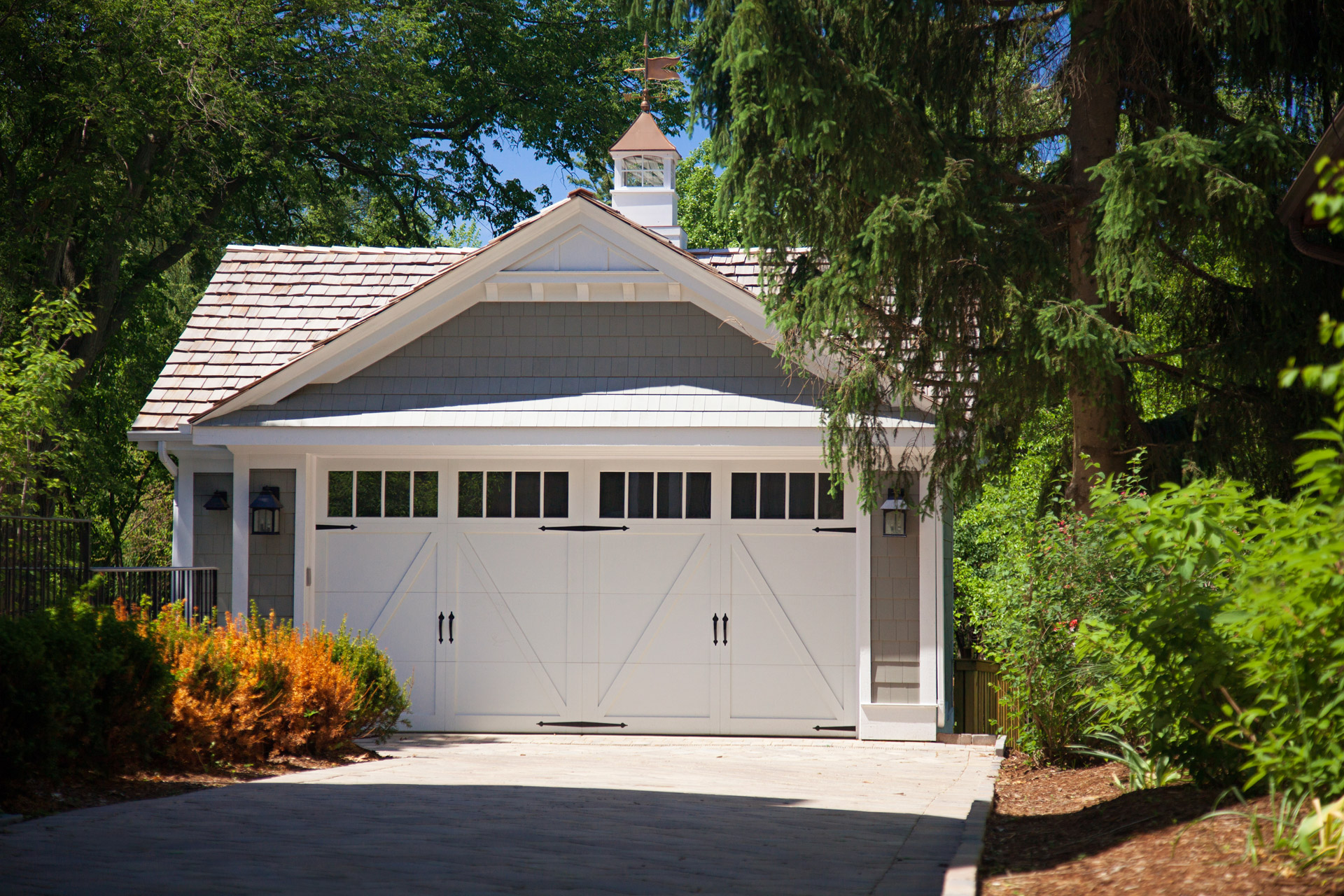 Detached custom garage Naperville