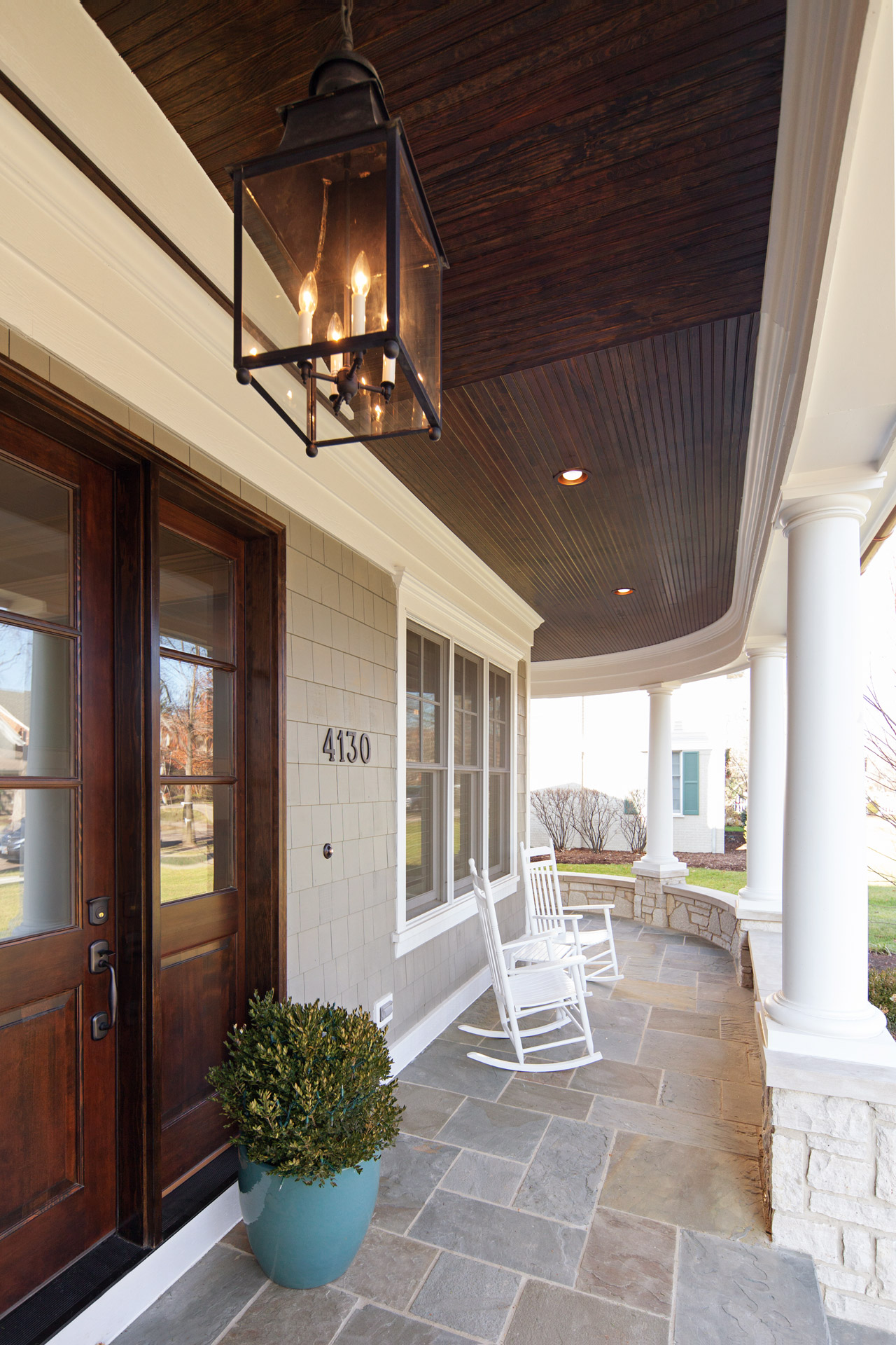 Front porch entry doors