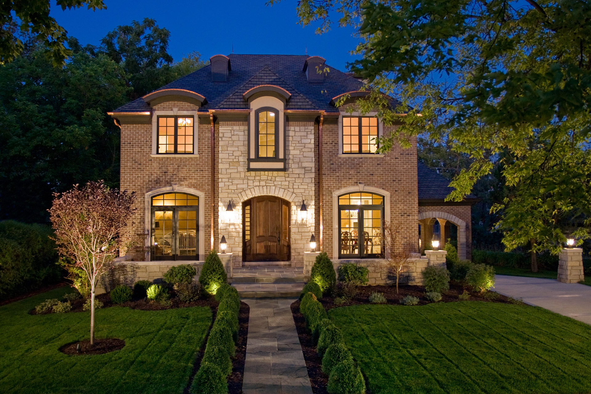 Hinsdale custom home builder photographer
