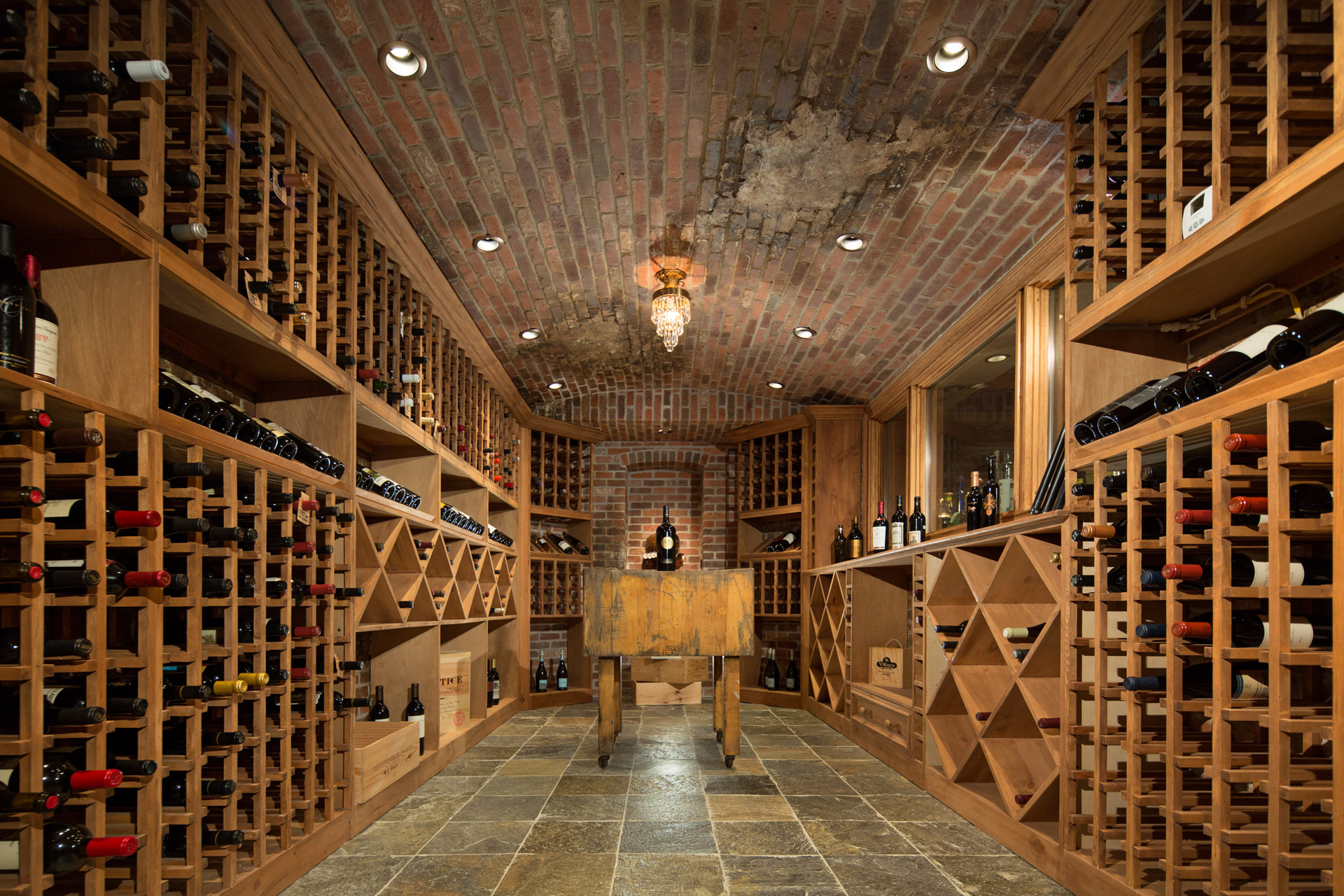 Luxury Wine Cellar : Chicago illinois interior photographers custom luxury home