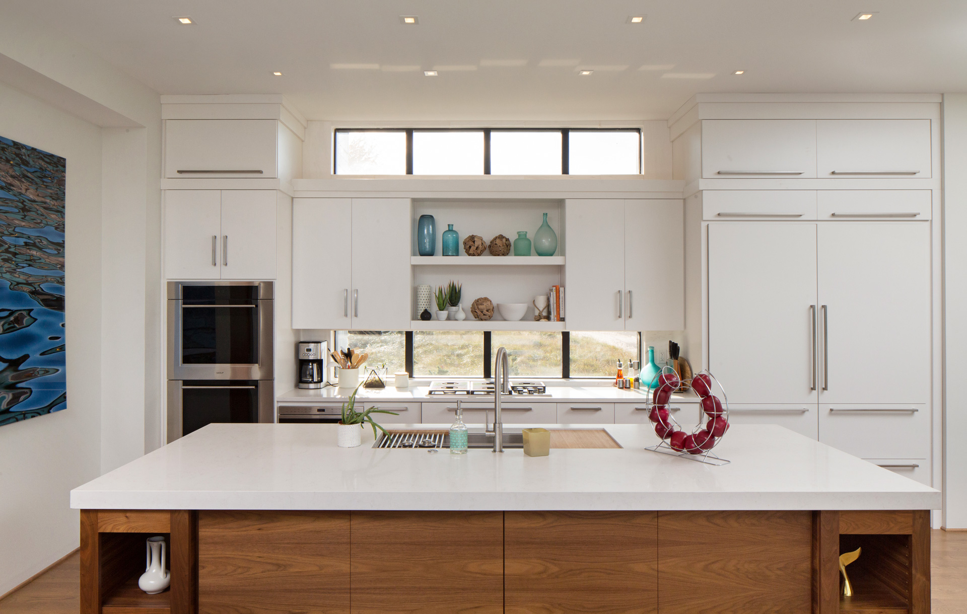 Chicago illinois interior photographers custom luxury home for Modern mansion kitchen