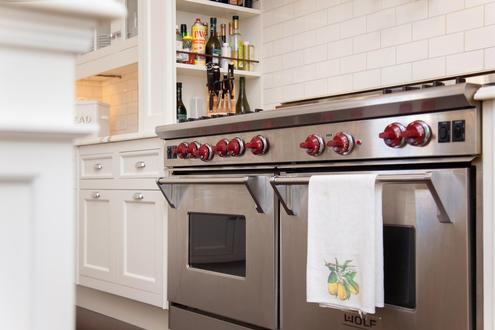 Stainless steel oven range stove