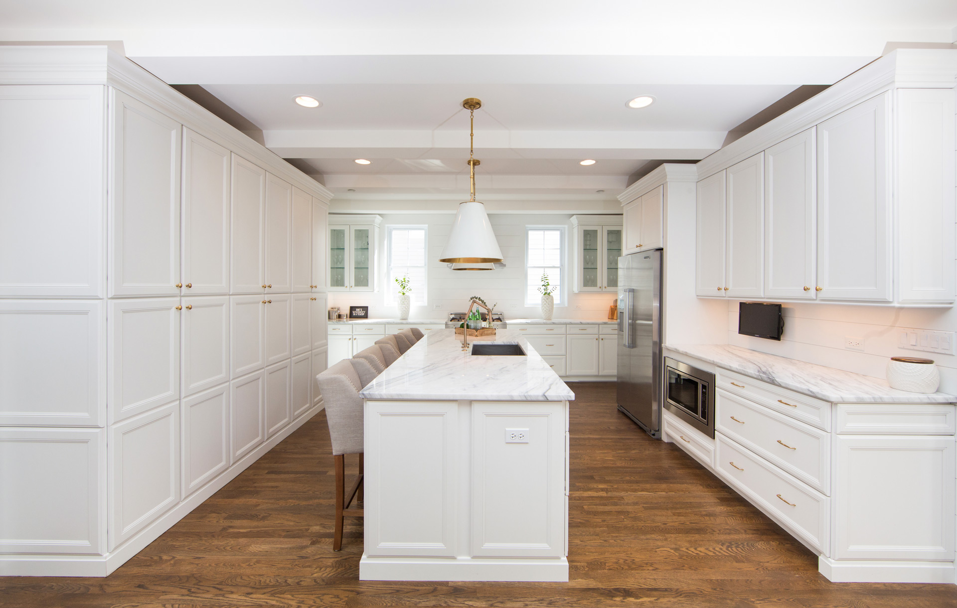 white classic kitchens Hinsdale IL