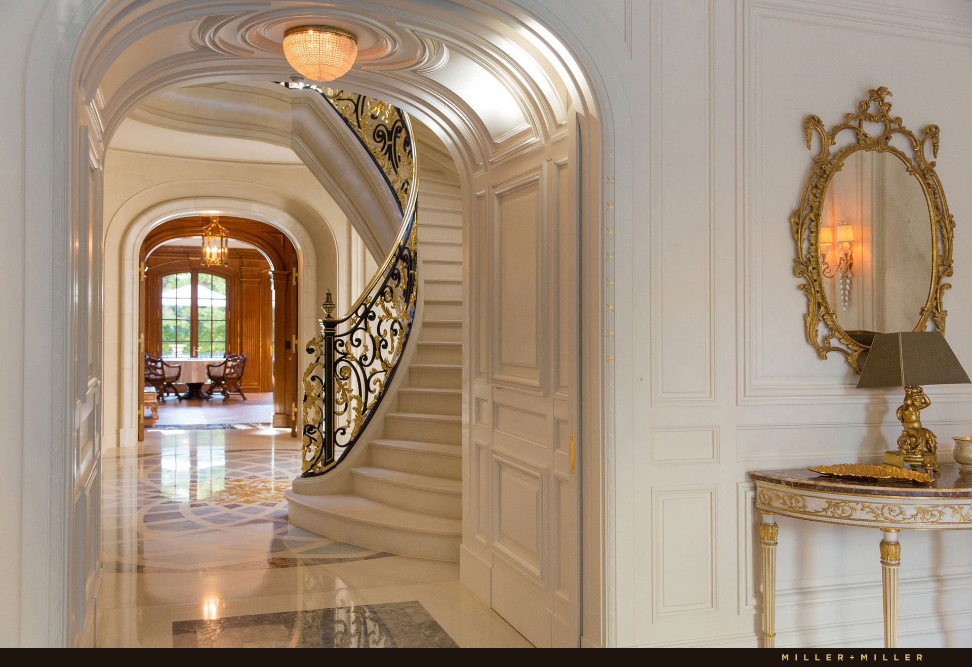 chicago-mansion-for-sale-gold-staircase-marble