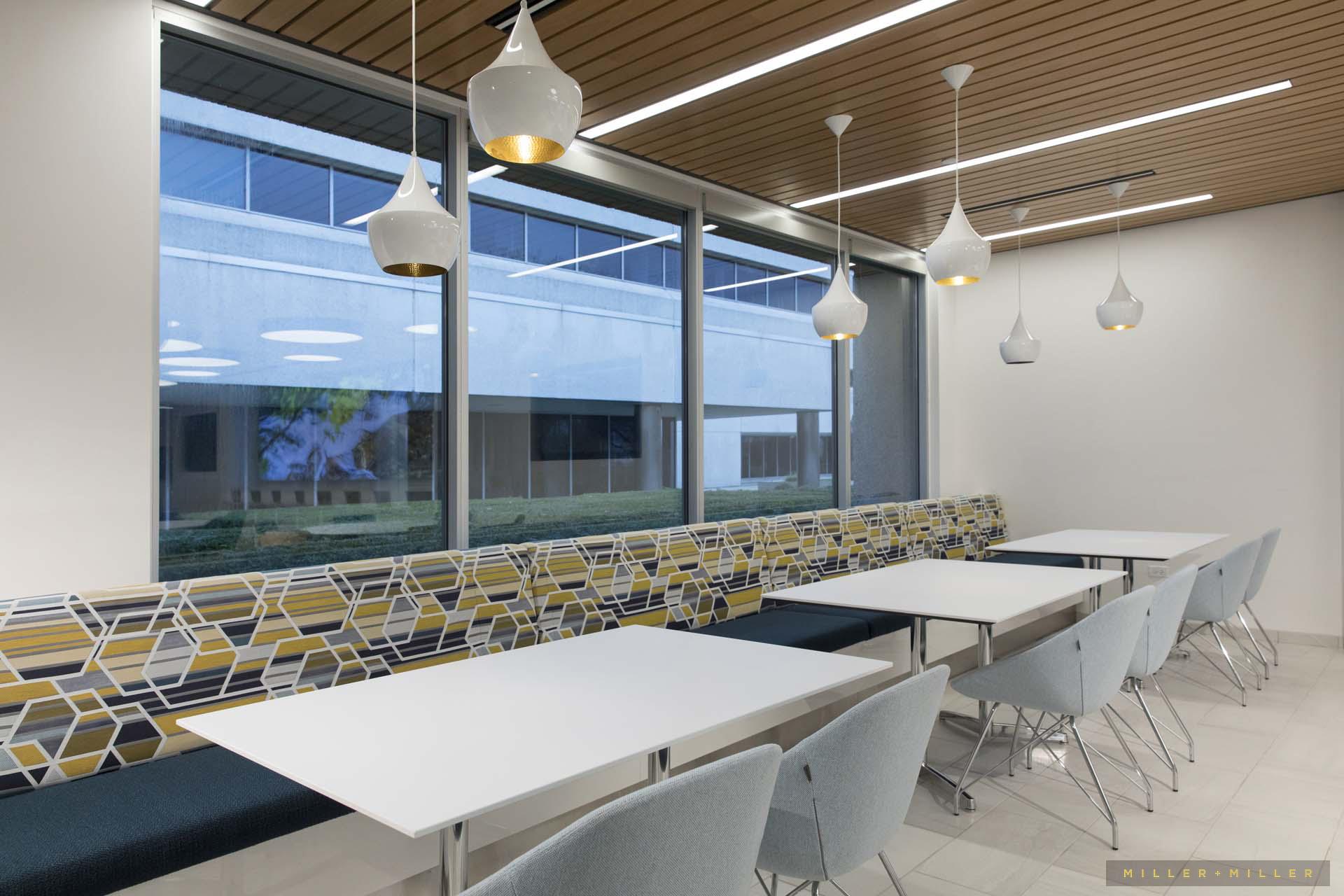 corporate lunchroom interior design photos