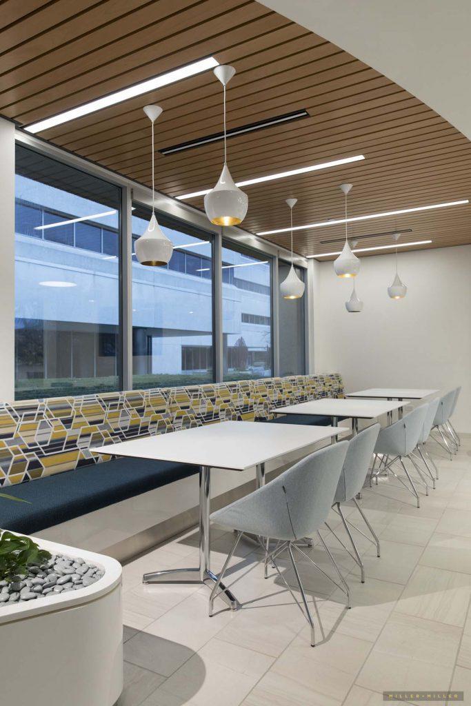 new construction photos modern hospital cafe