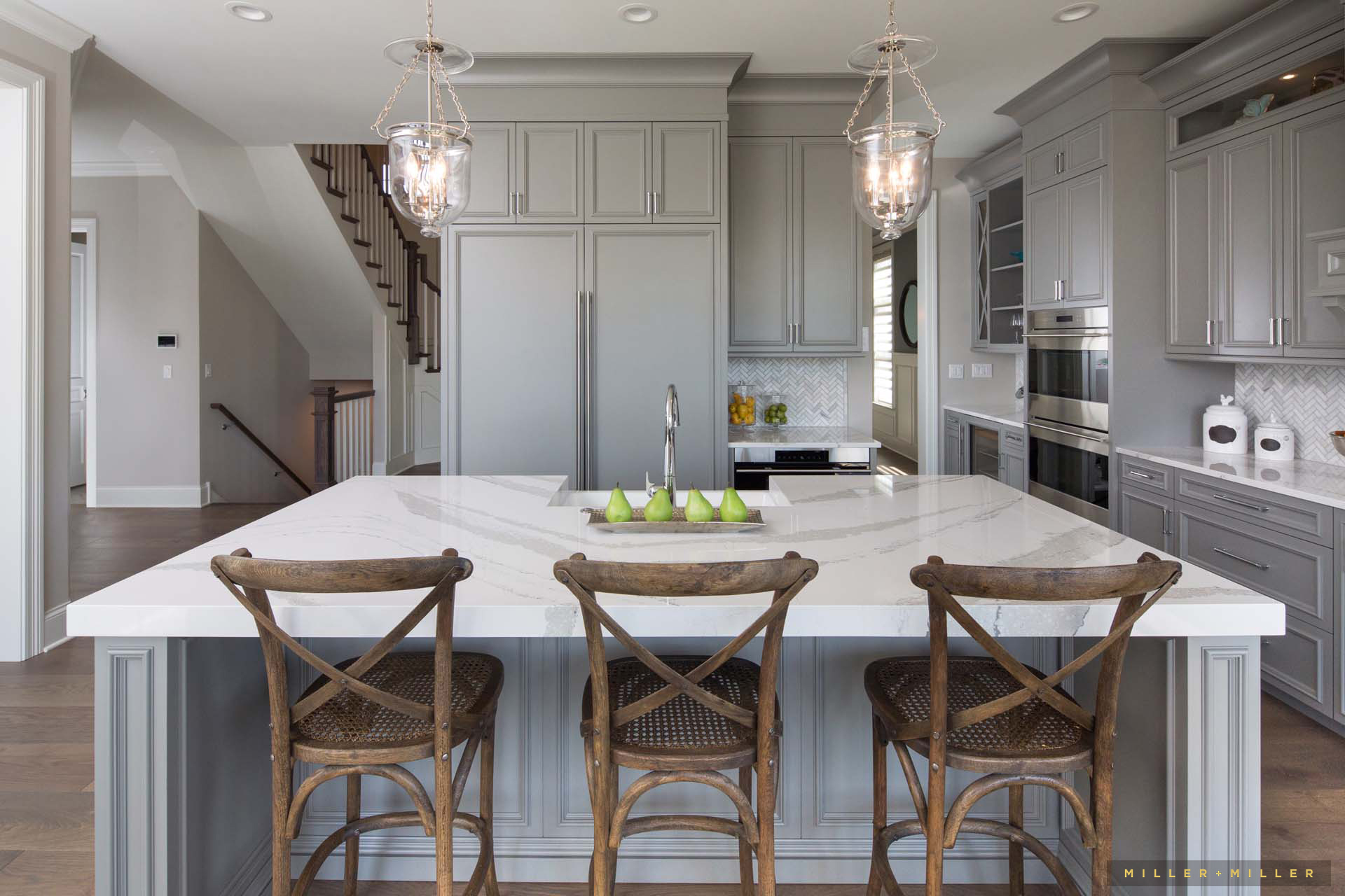 Inspiring Room: Modern Nantucket-Style Farmhouse Kitchen ...