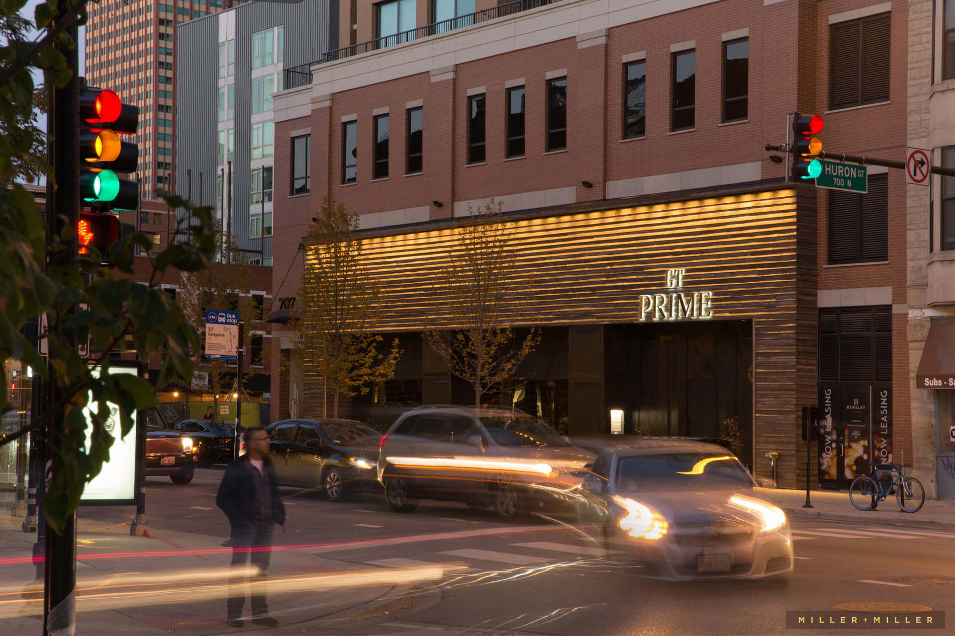 restaurant exterior professional photography