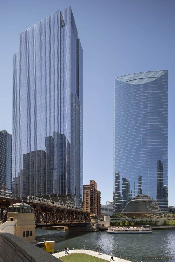 Award-winning architect images Chicago skyscrapers