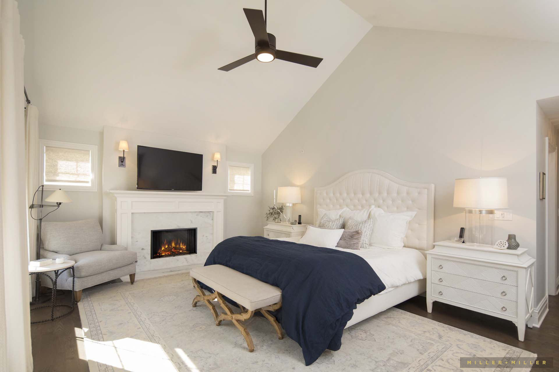 custom home interiors photos master bedroom