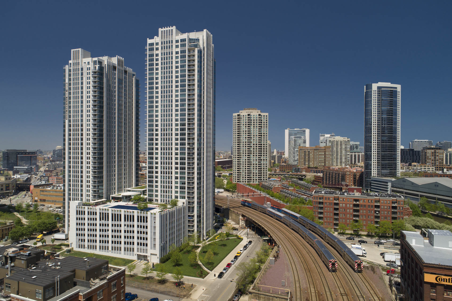 High Rise Building Aerial Pictures