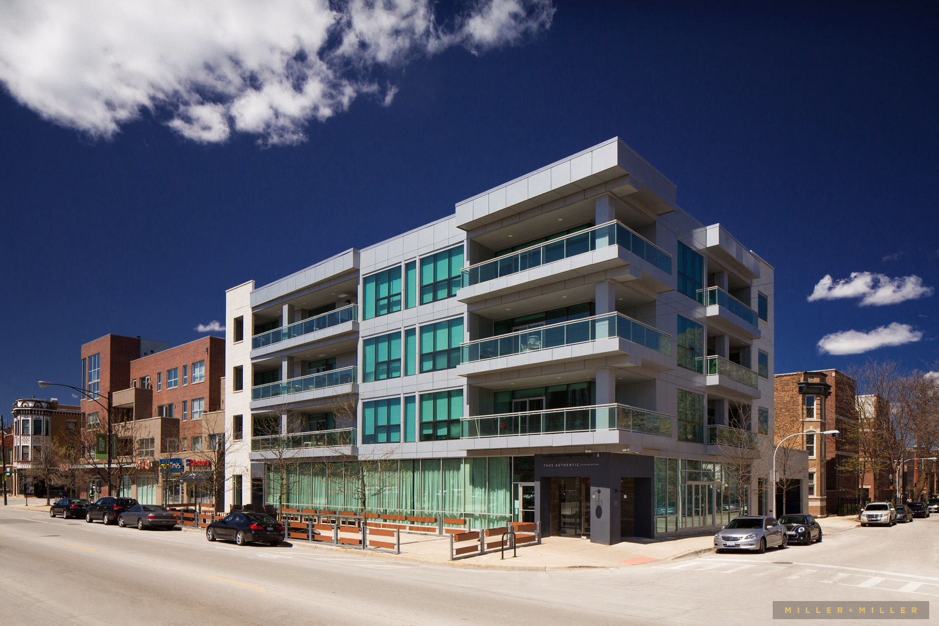 Milwaukee Commercial Photographer Mid-rise Development Building