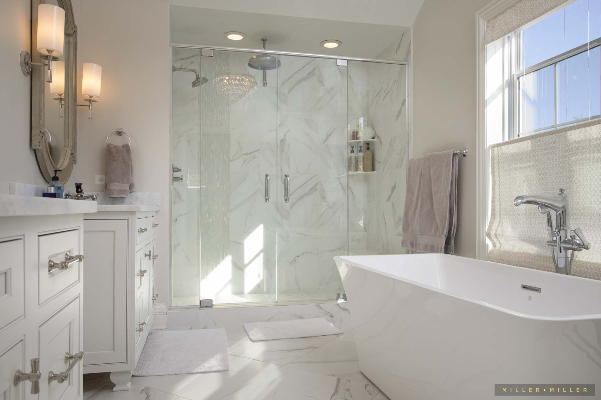 white-bath-marble-custom-shower