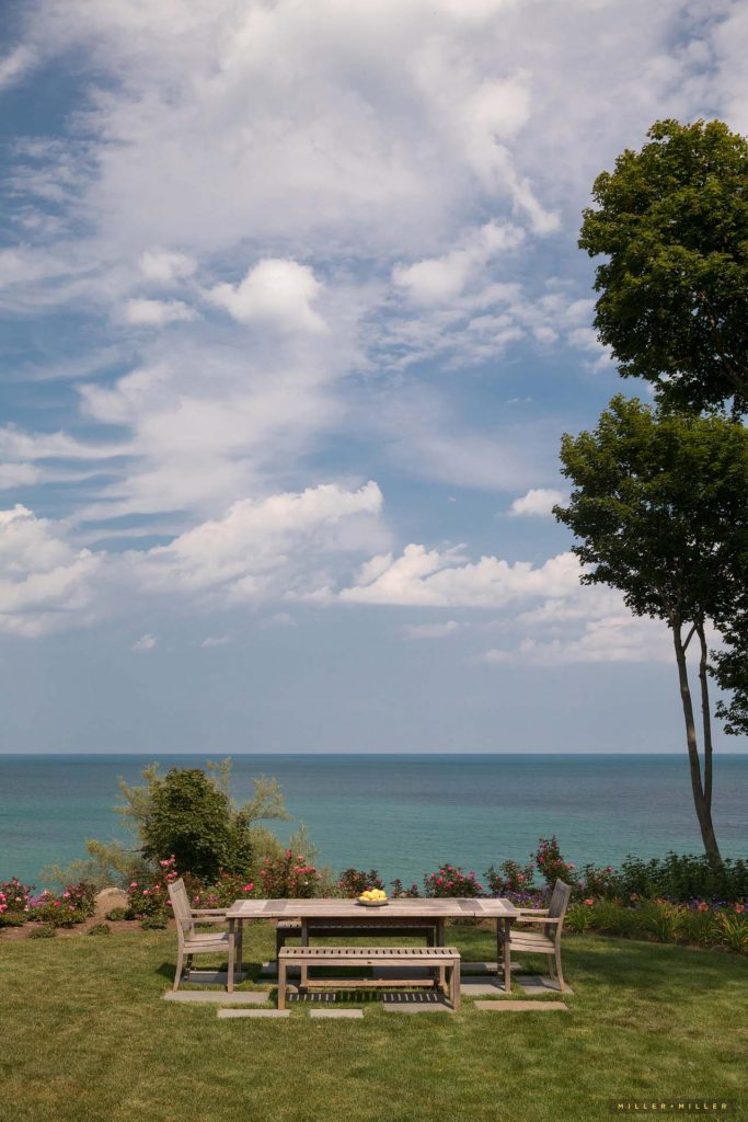 Chicago Michigan drone photographer waterfront beach homes development