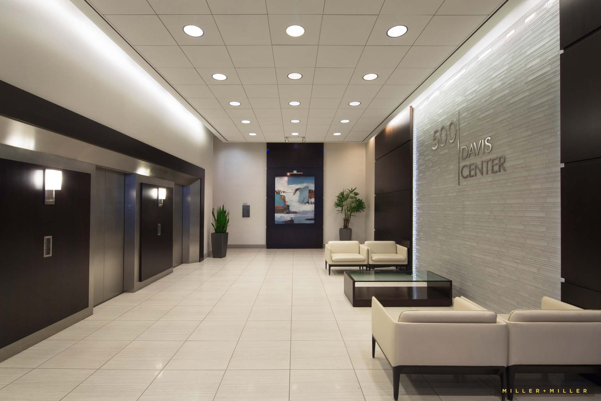 Detroit corporate interiors construction design photographers