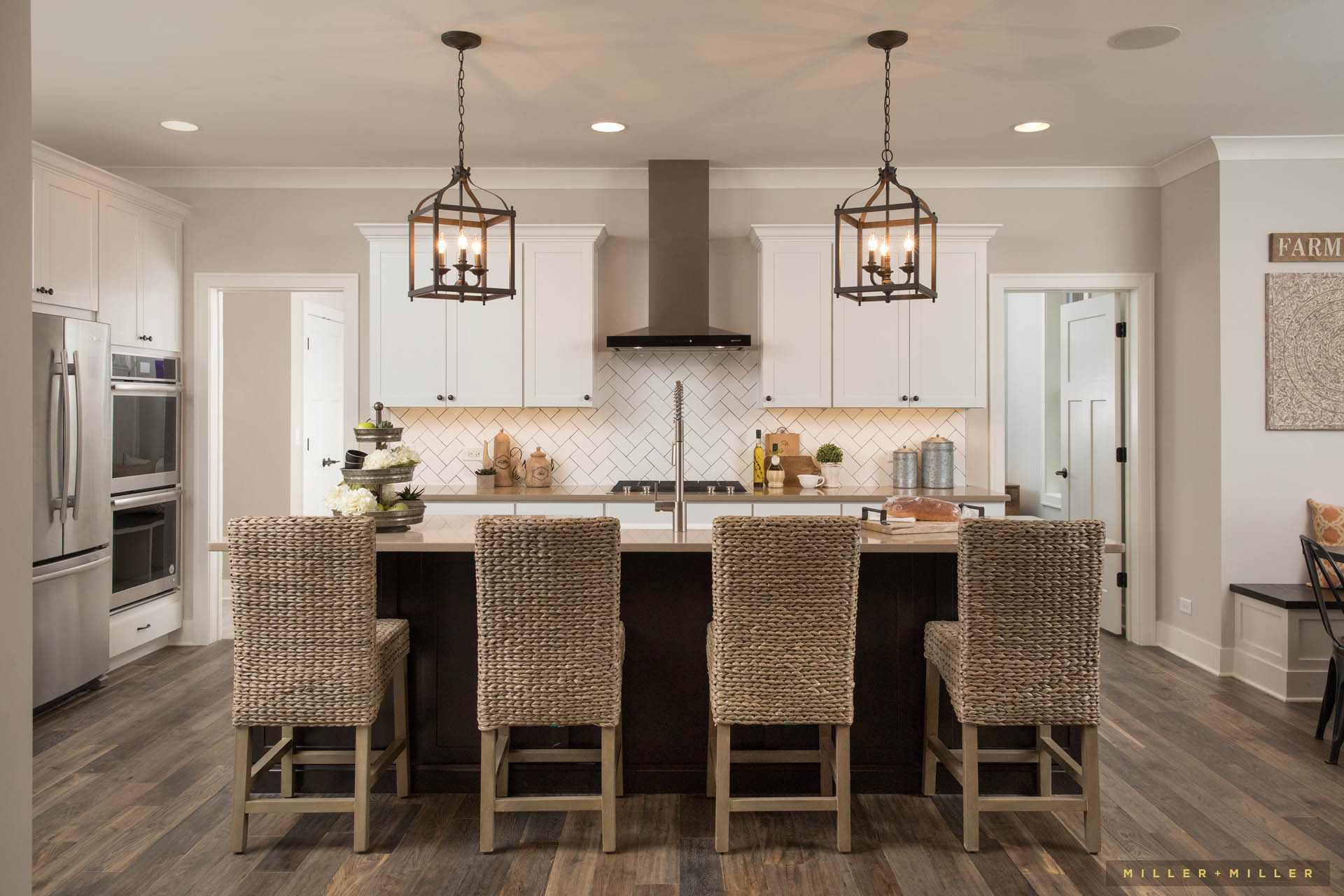 Farm Kitchen Large Pendent Lighting