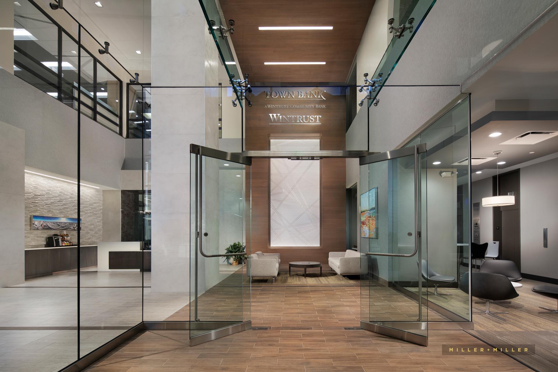 bank lobby hotel interior photographs