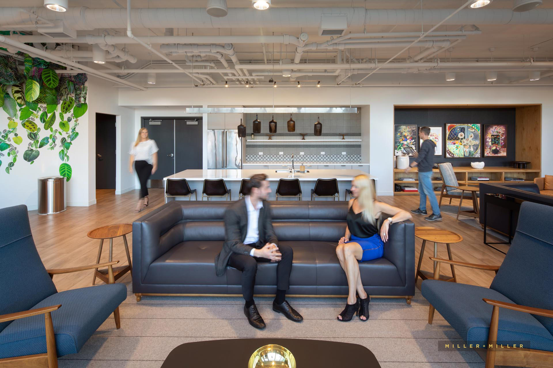 commercial interior marketing photography people