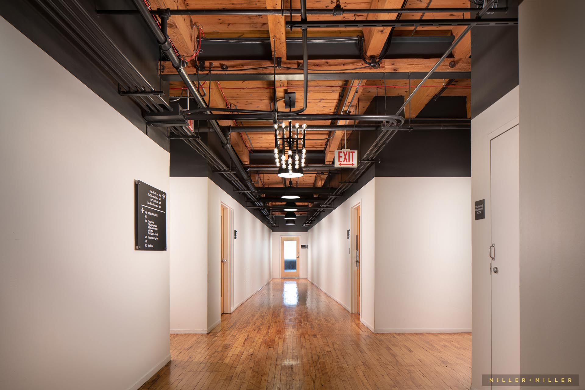 commercial lighting fixtures interior photography
