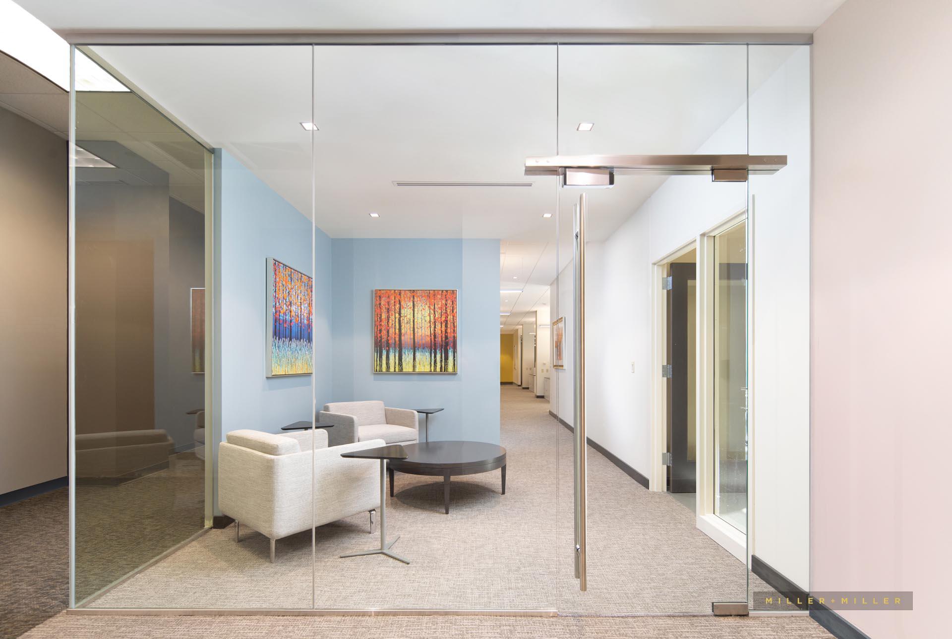 medical hospital interior renovation photography
