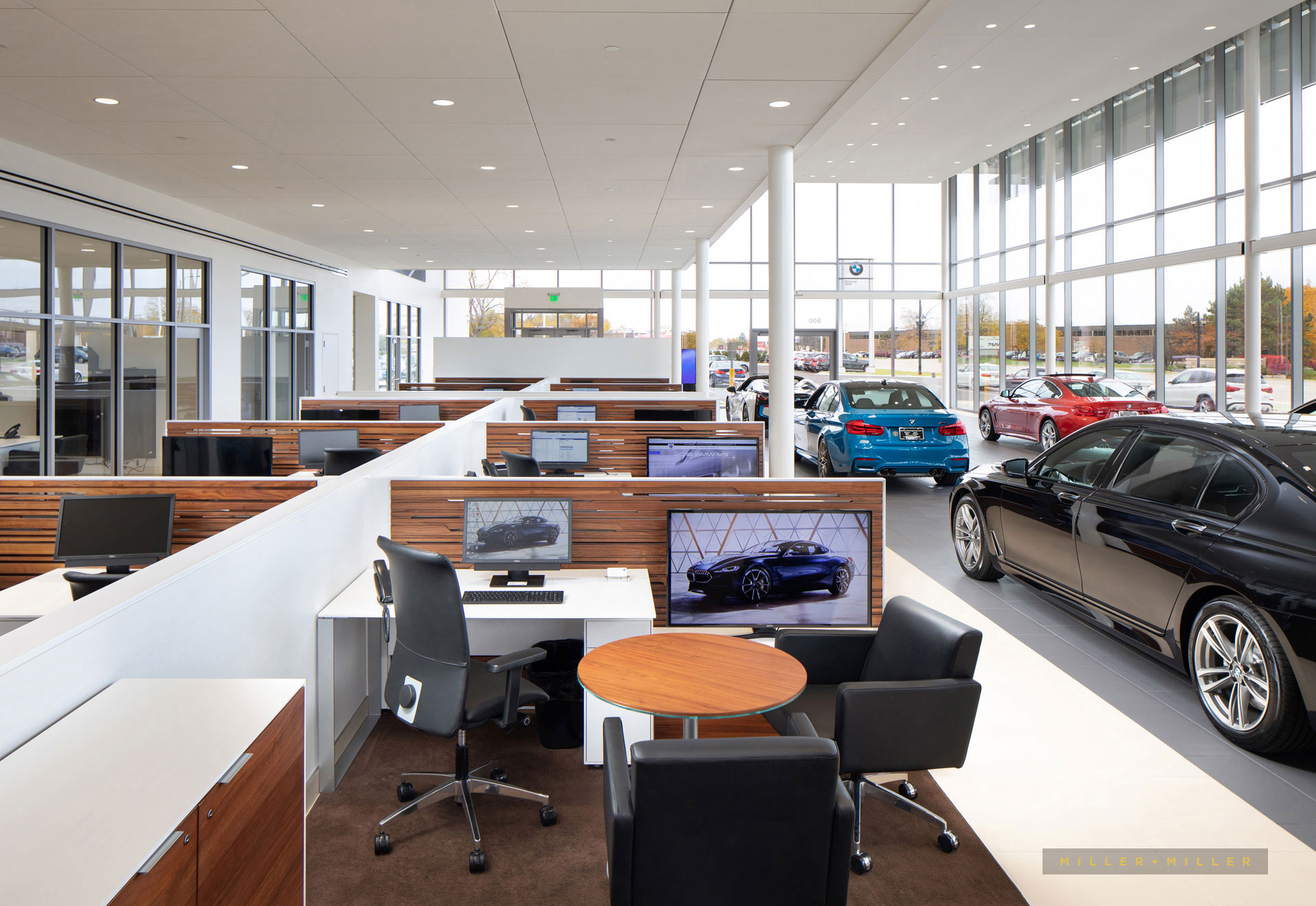 auto dealer showroom interior photos