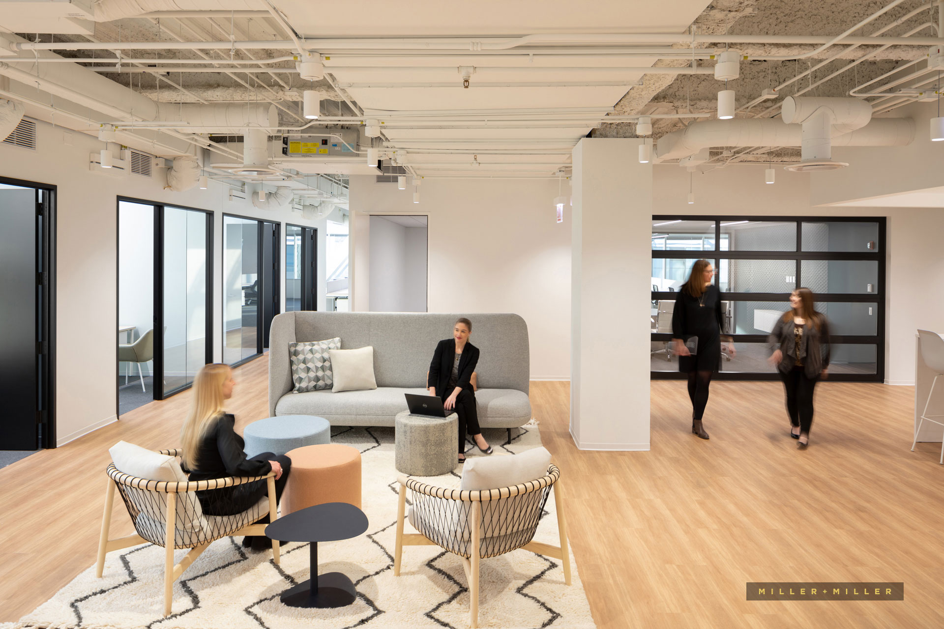 corporate interior design photography Milwaukee
