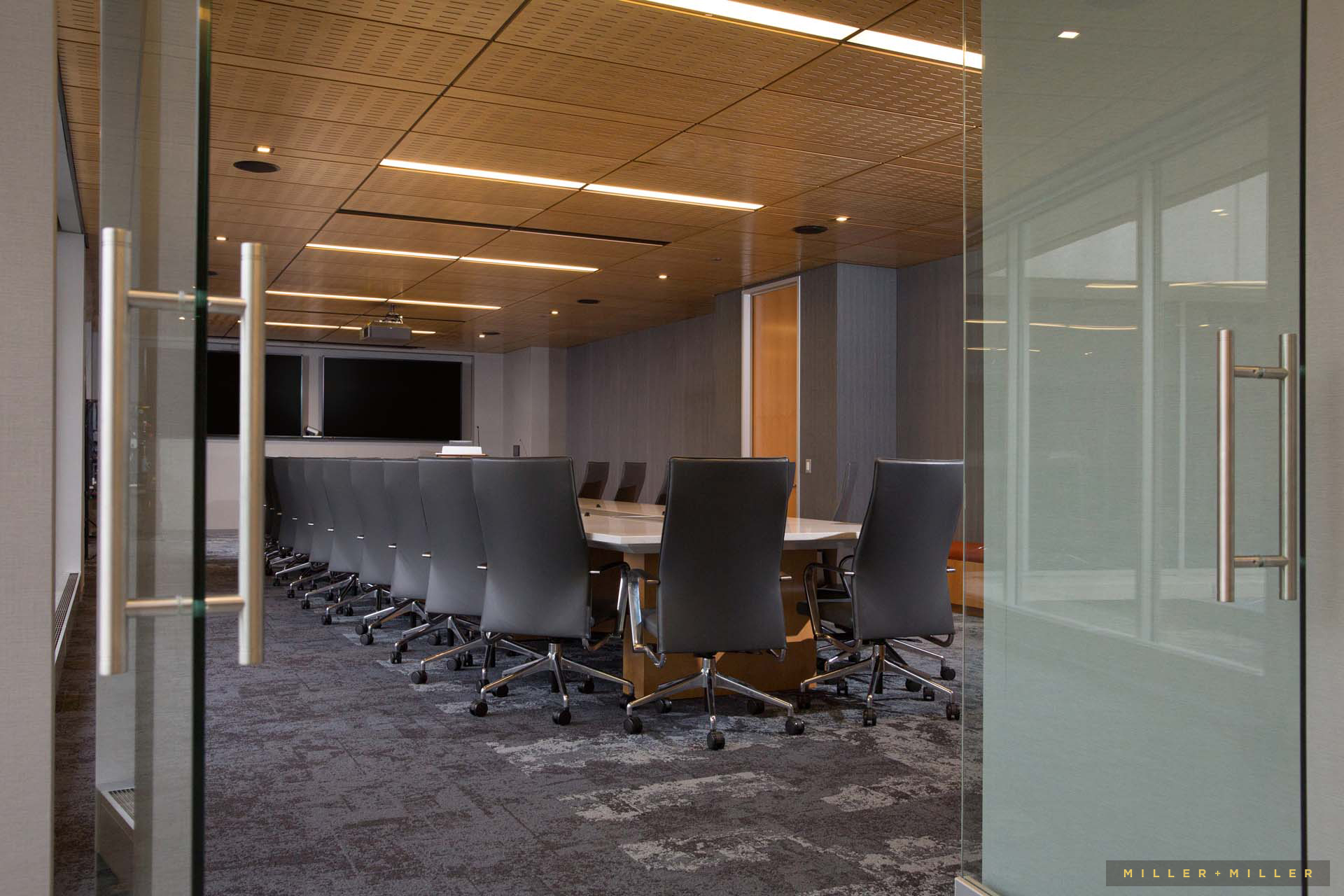 corporate interior room photography Madison