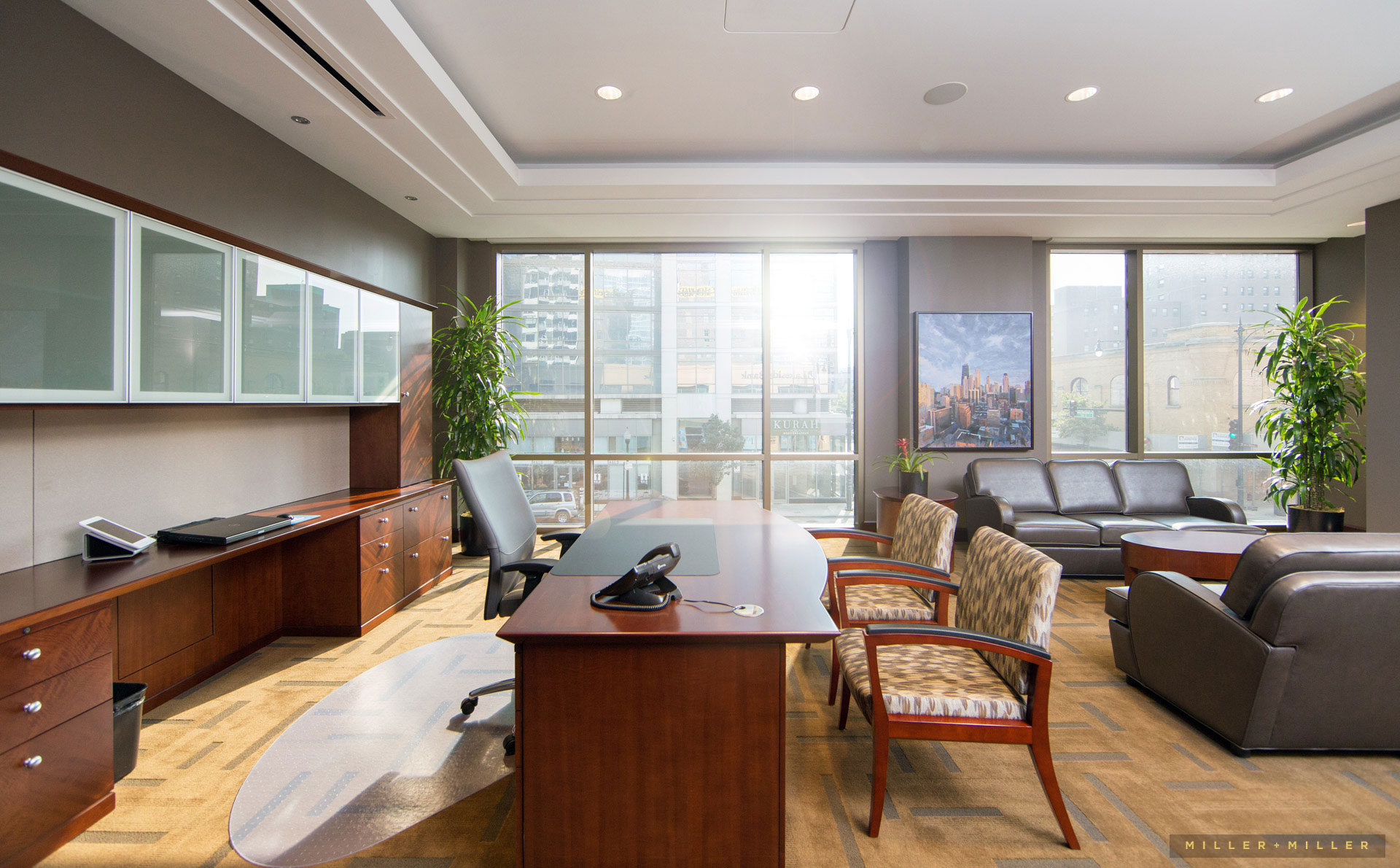 corporate interior photography Detroit Michigan