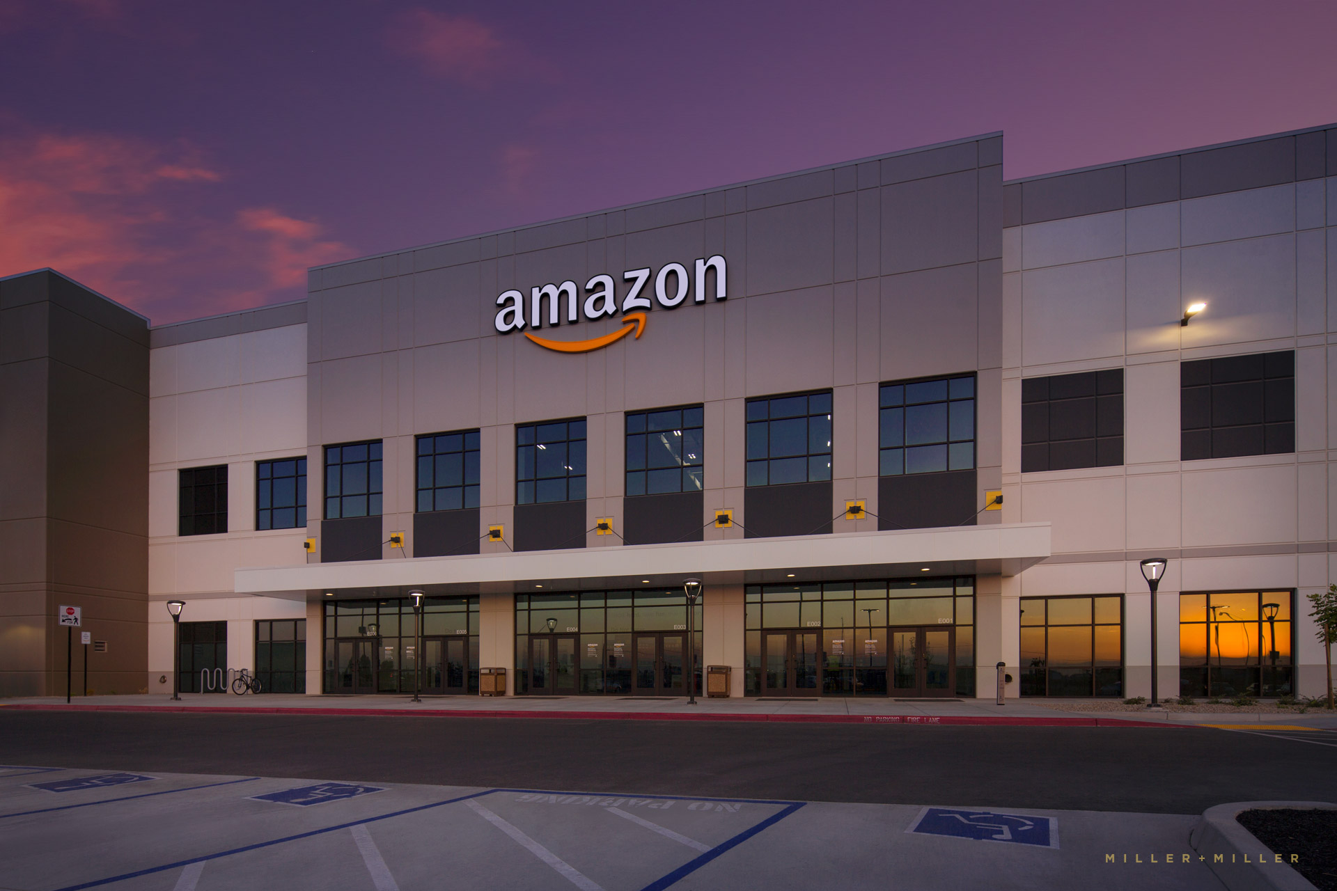 Amazon Industrial Warehouse Fresno California