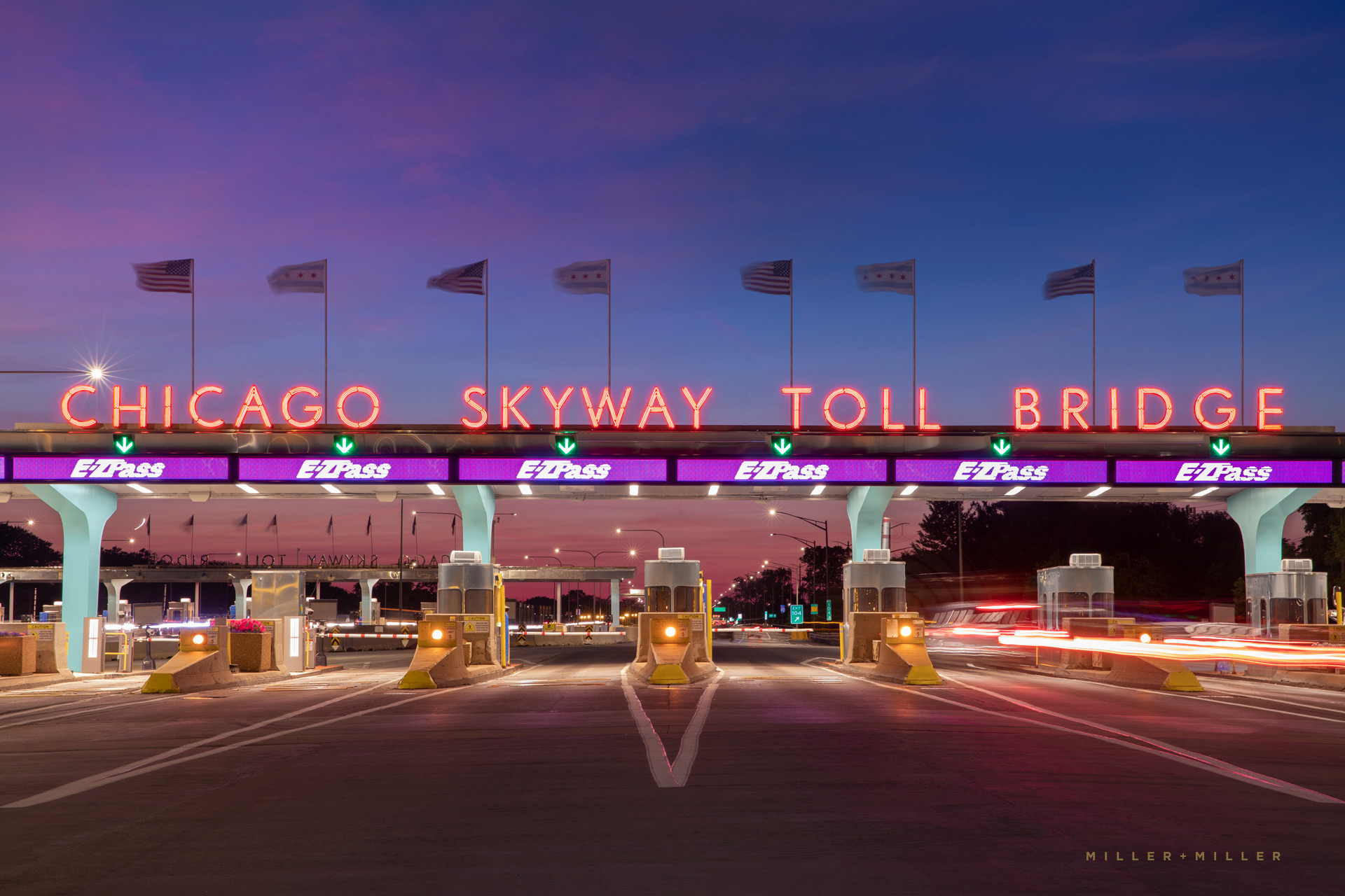 Chicago Skyway Toll Bridge Plaza restoration