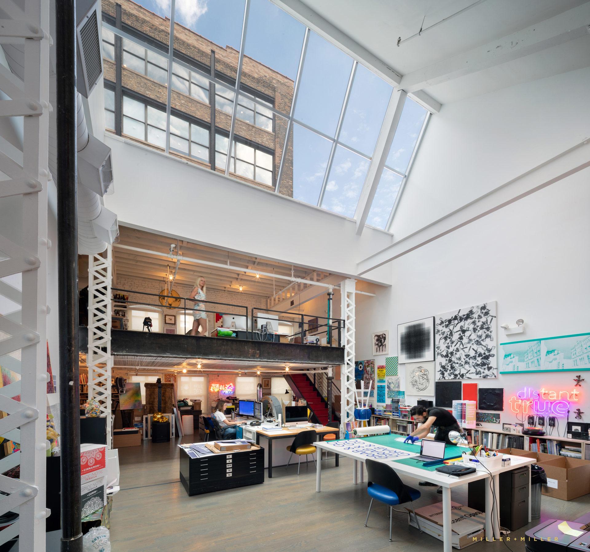 Commercial Artist Loft Graphic Designers