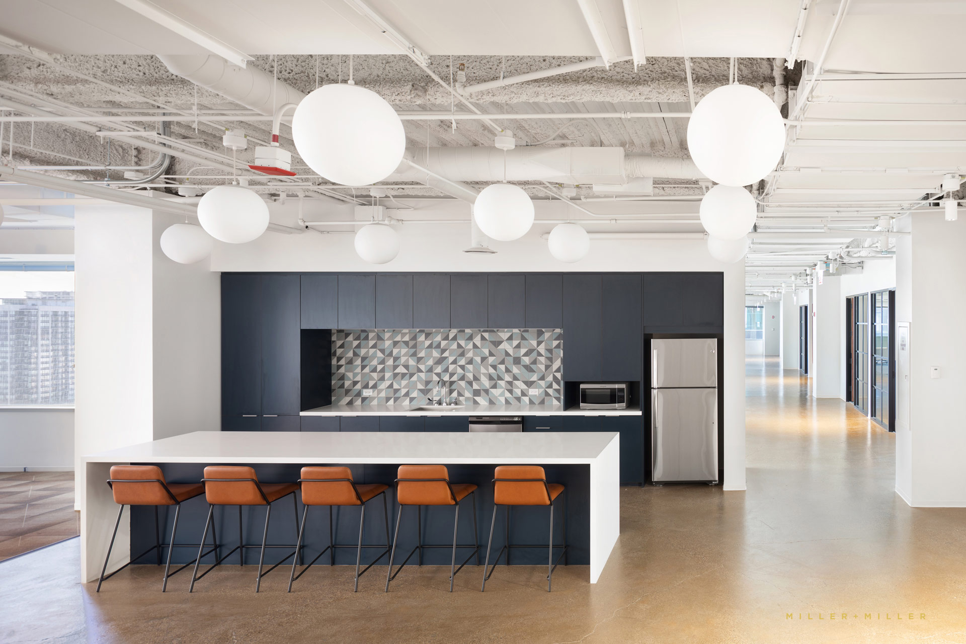 Corporate Office Kitchen Bar