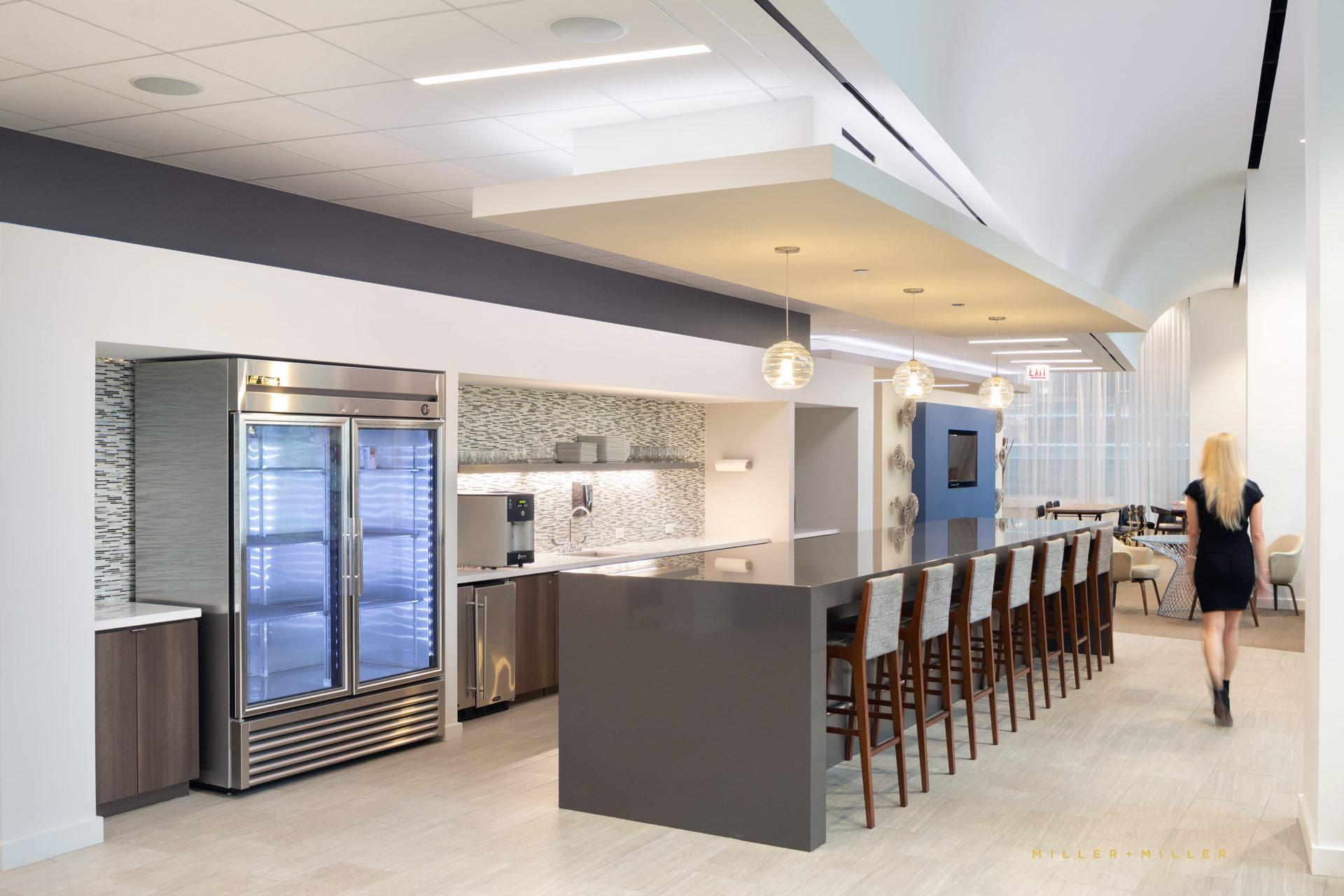 Corporate Office Kitchen Breakroom
