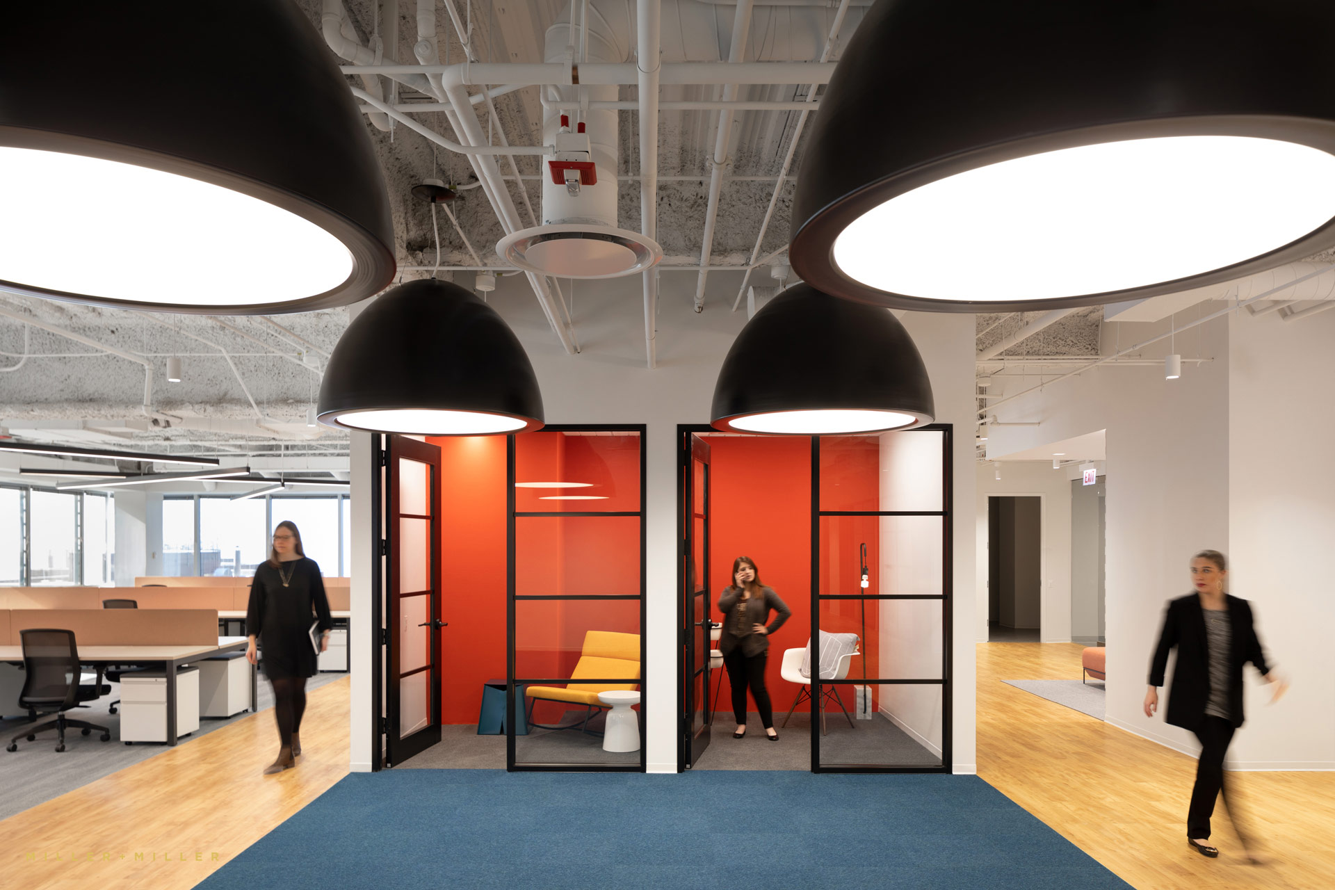 Corporate Offices Nooks People Motion