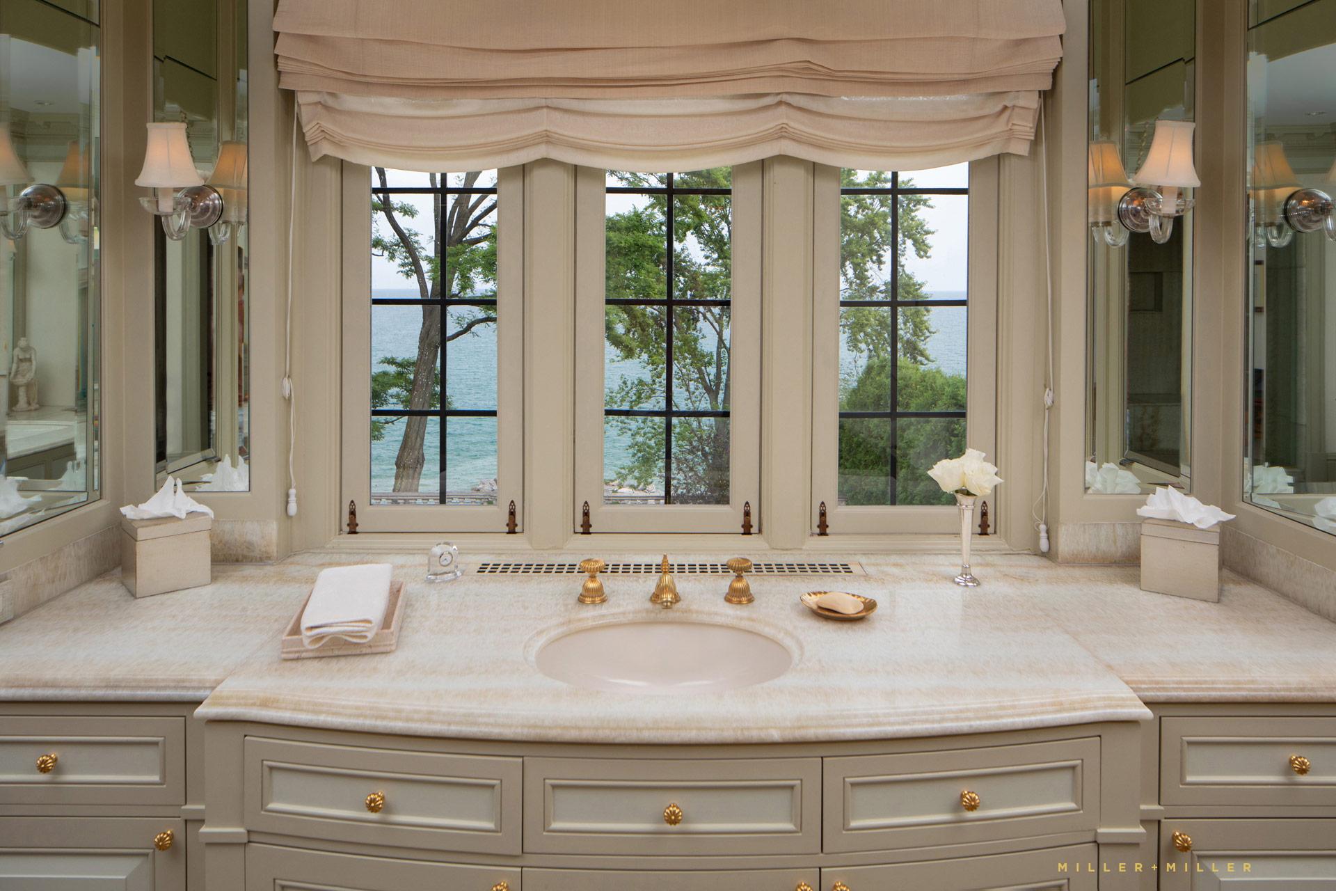 Luxury Master Bathroom North Shore Chicago