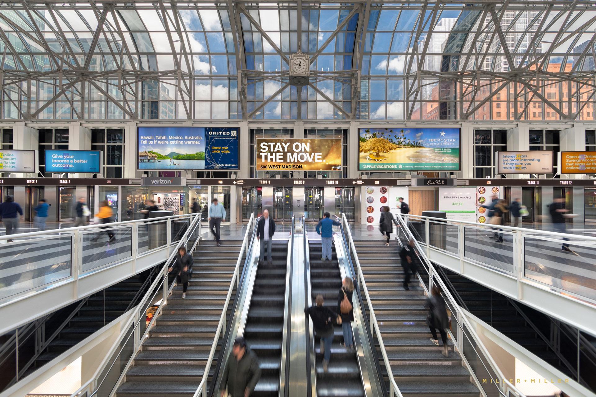 Ogilvie Transportation Center Metra Train Station