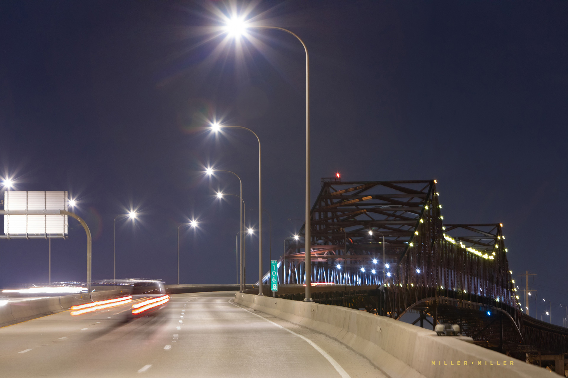 steel-bridge-night-transportation