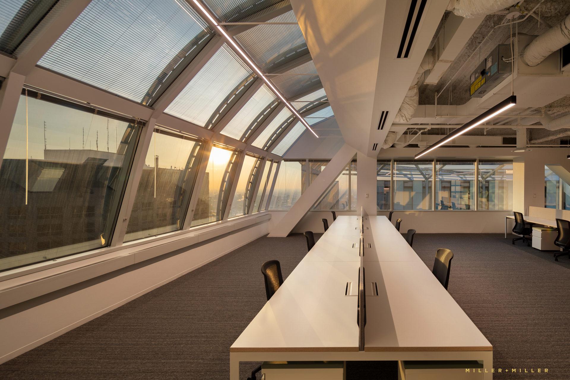 Sunset Windows Loft Space
