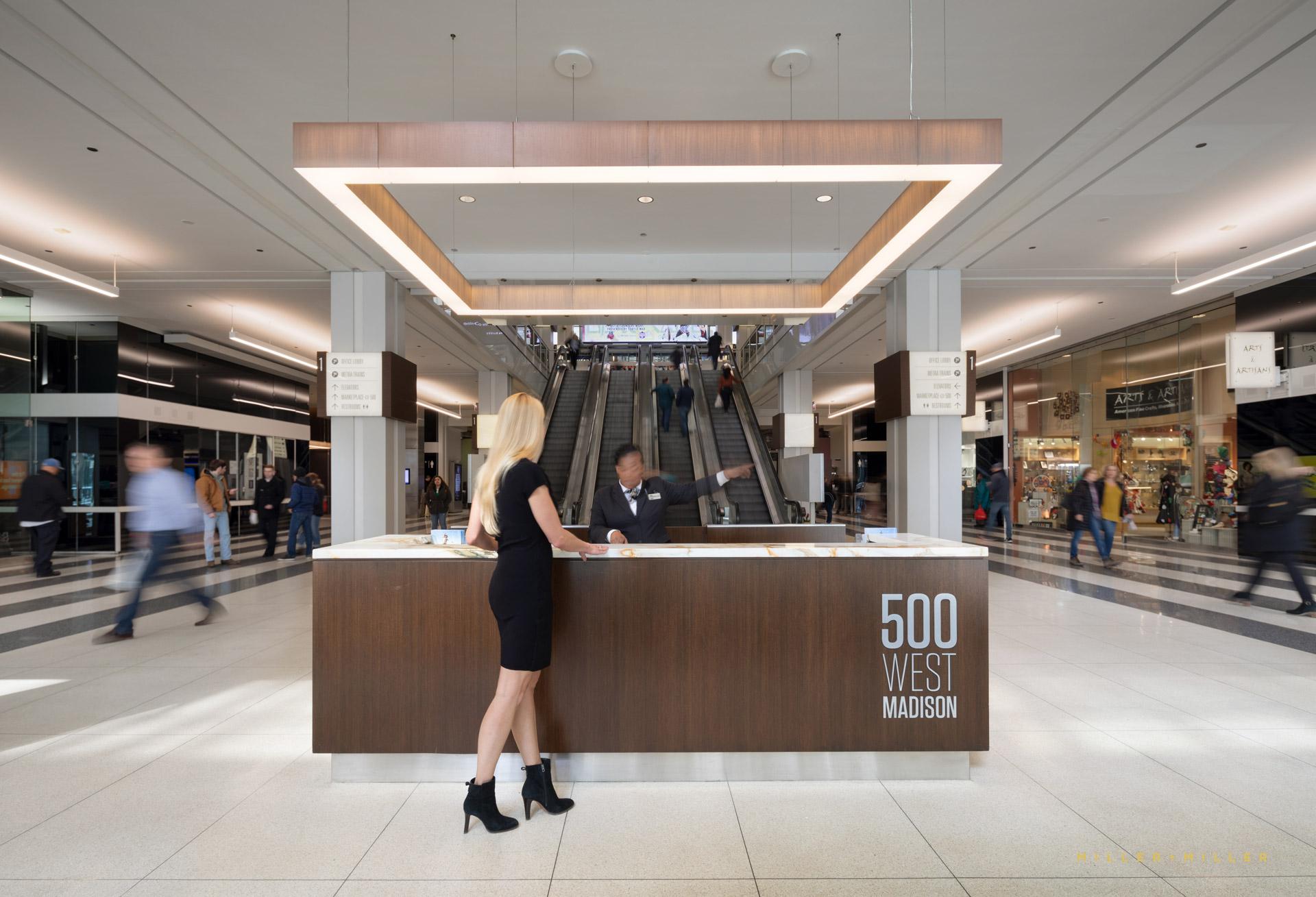 500 West Madison Entrance Interior
