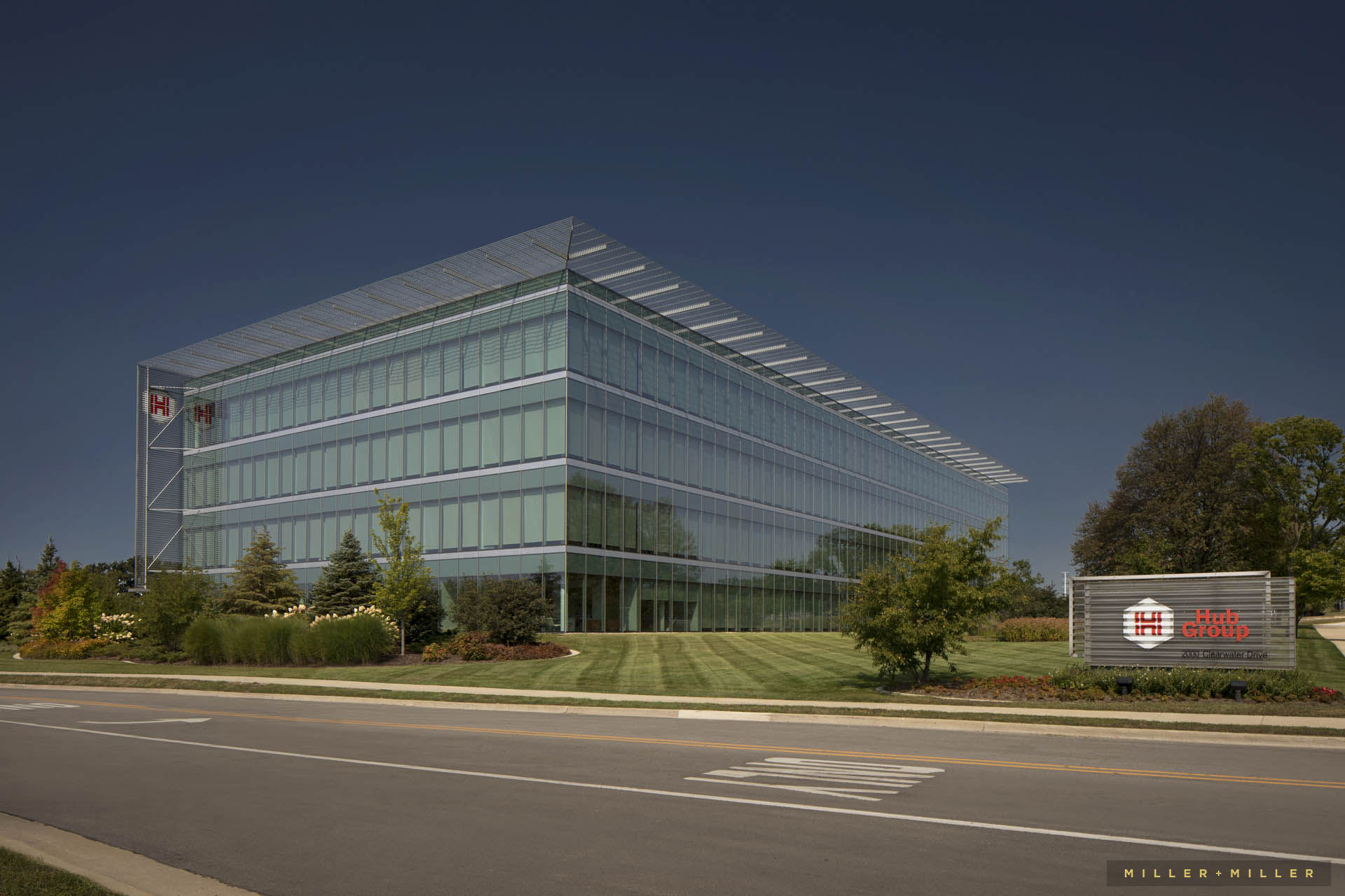 corporate real estate exterior building photography